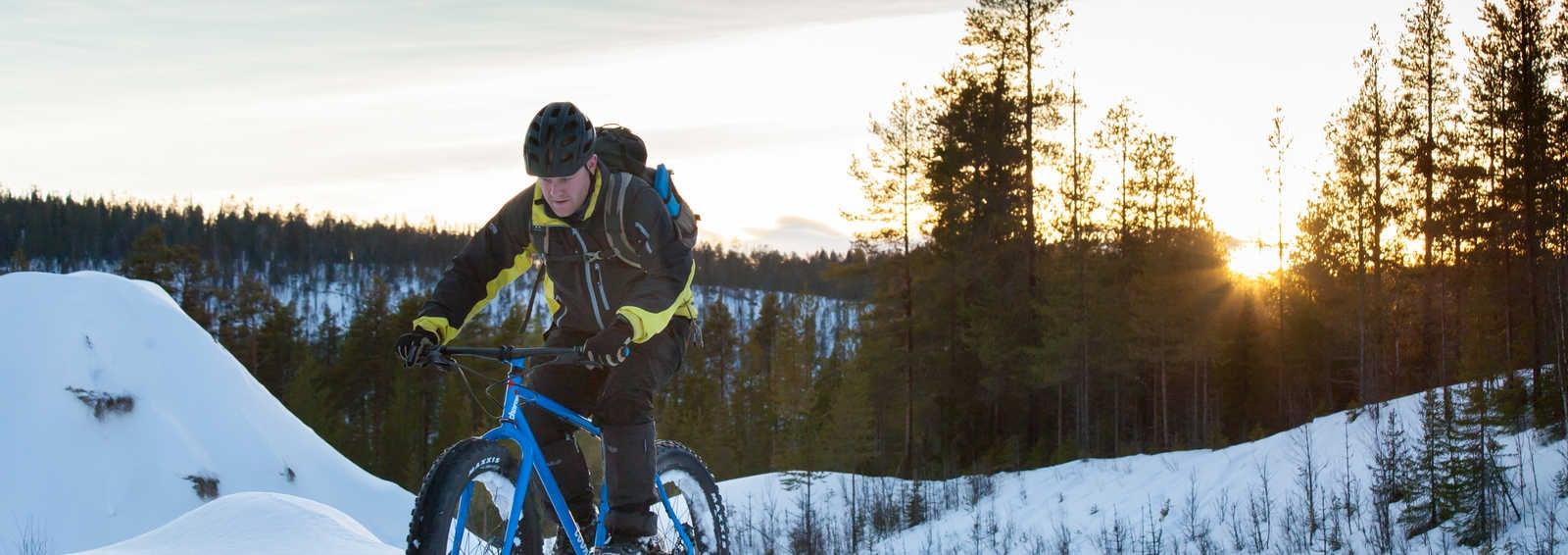 Fat Biking In Finland Exodus