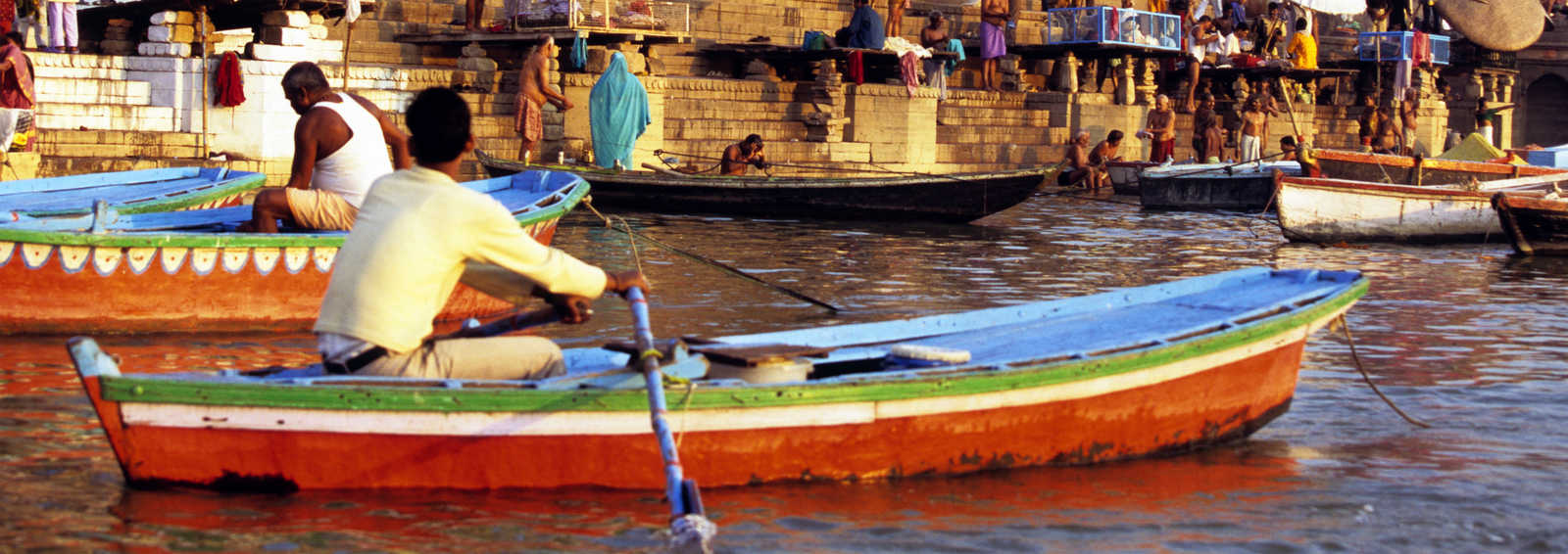 Life on The Ganges, Varanasi, India
