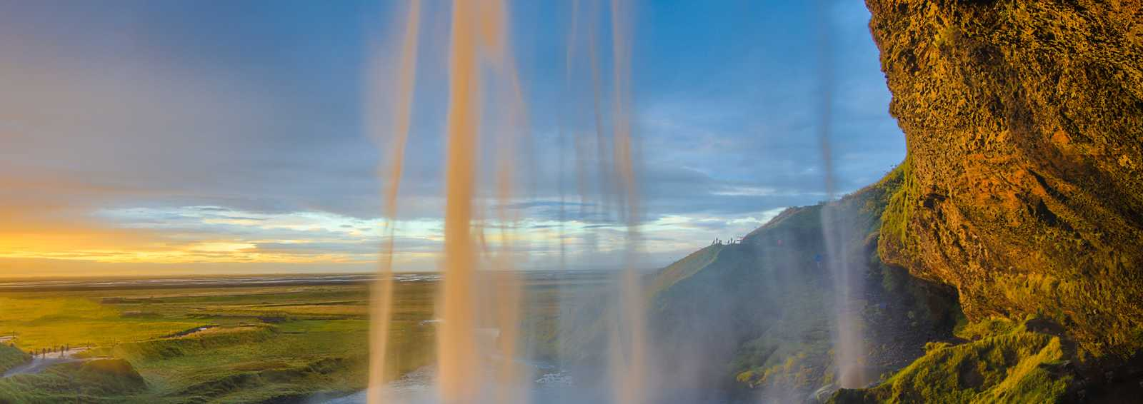 Iceland Summer Waterfall