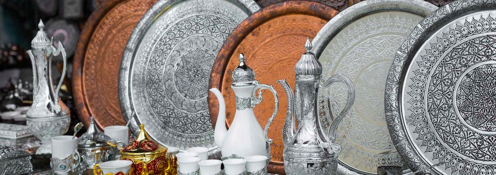 Copper coffee sets, Bosnia