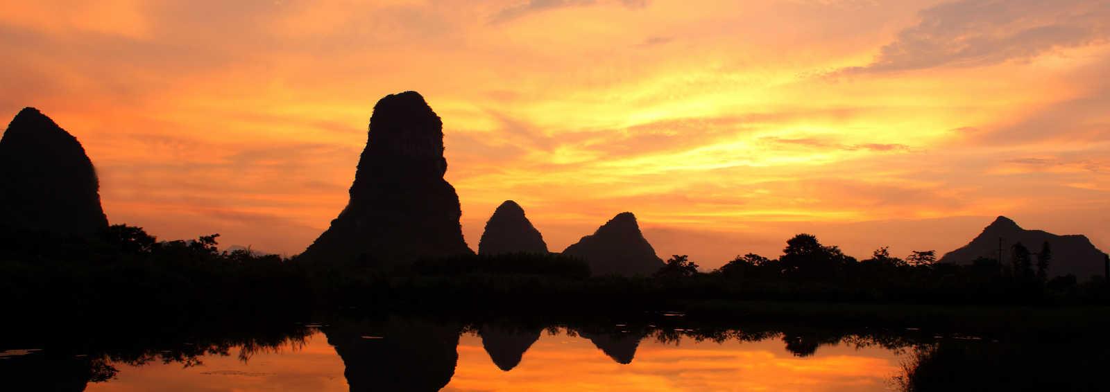 Sunset Guilin,China