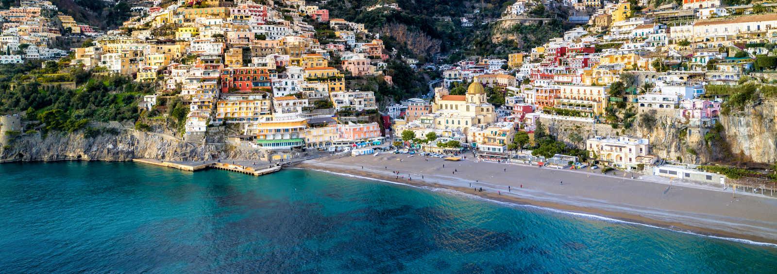 Bust on display on the Amalfi Coast, Italy