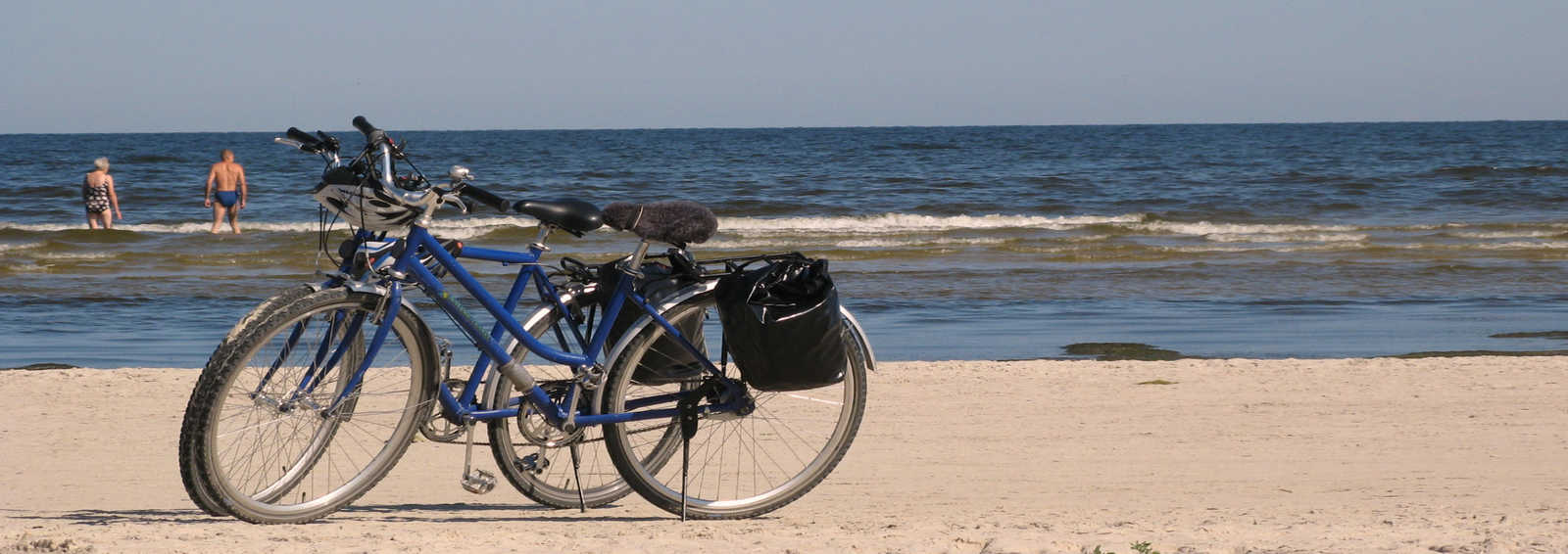 Bikes on the Baltic coast