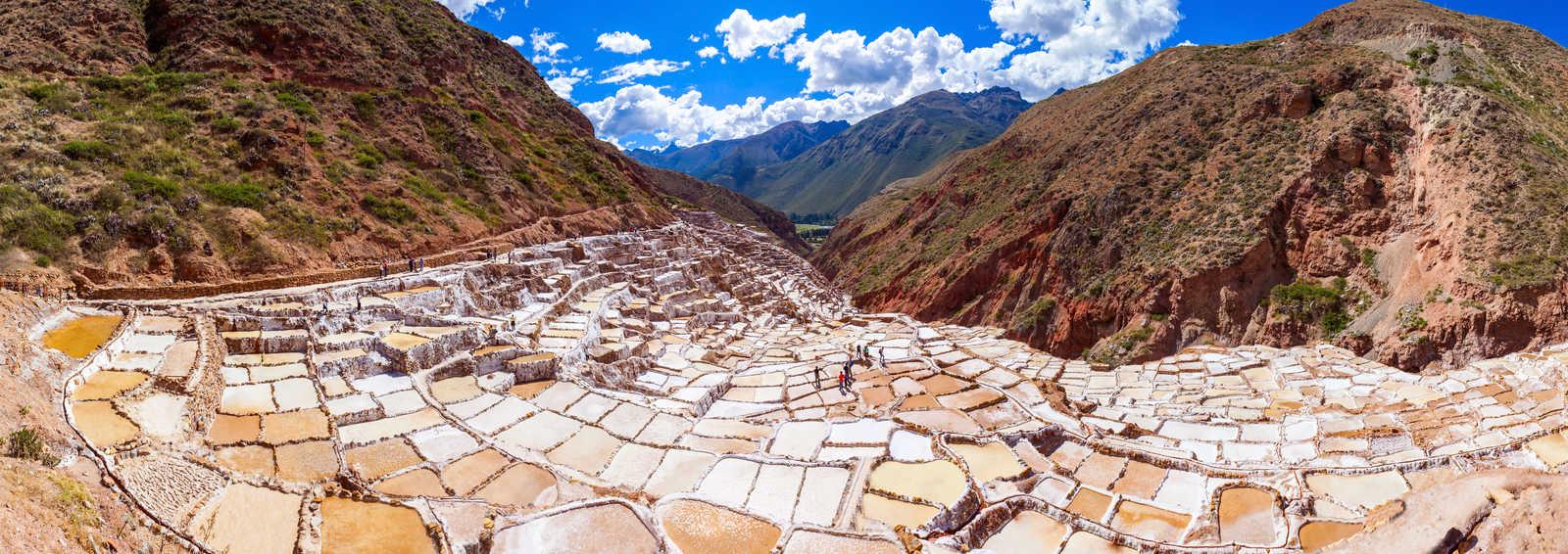 Salt Pans of Maras, Peru