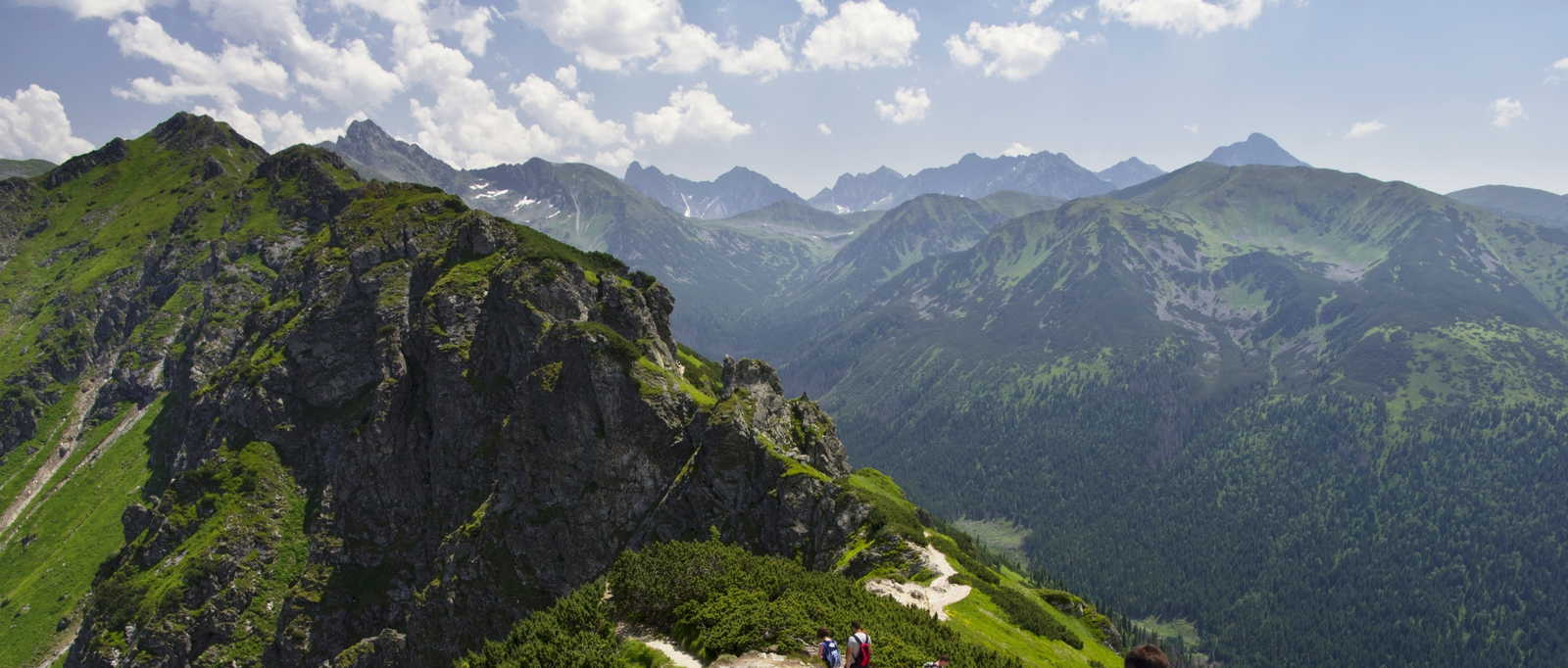 Trek the Polish High Tatras. There's a parkrun in Krakow too!