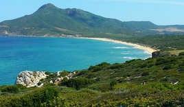 Views of Sardinia's coast