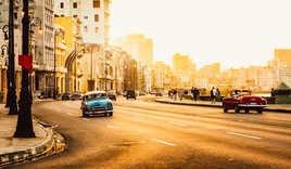 Malecon road, Havana, Cuba