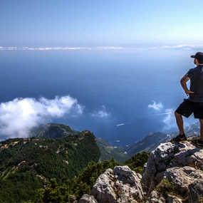 Amalfi Coast,, Monte Tre Calli