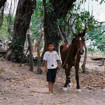 Boy and horse, Isla Ometepe