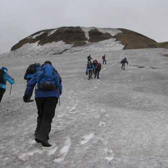 Climbing Mt Kerlingarfjöll (1477 metres)