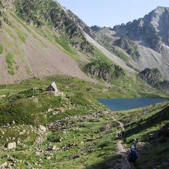Lac d'Ilheou and refuge