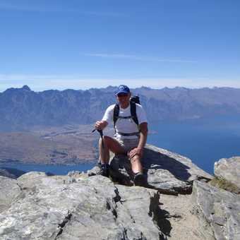 on top of the world - well Ben Lomond anyway - Queenstown