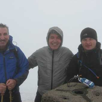 On Ben Nevis (2nd time) with friends June 2007