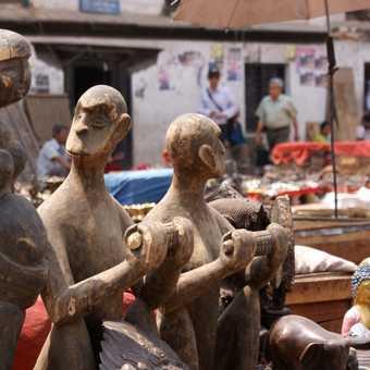 Kathmandu market stall