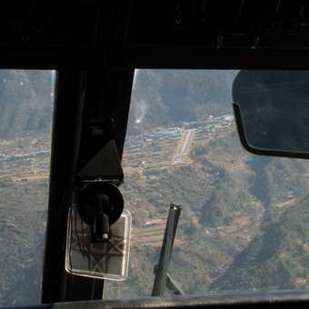 Takeoff at Lukla