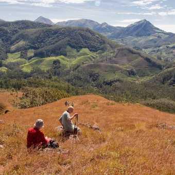Climbing Maparrain Hill