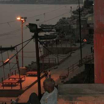 The Ghats, Varanasi at dusk