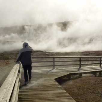 Looking at steam vents