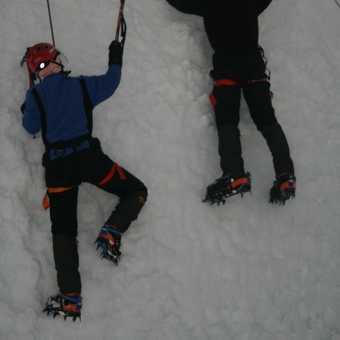 Ice Climbing Wall