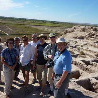Exploring the desert fortress