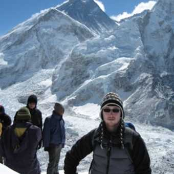 Kala Pattar Summit (Everest in background)