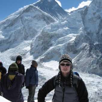 Kala Pattar Summit (Everest in background)