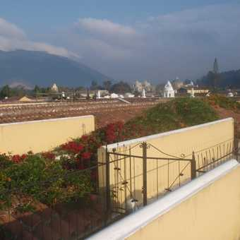 Rooftop view from Hotel in Antugua