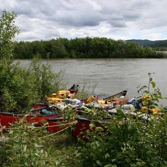 Canoeing in the Yukon