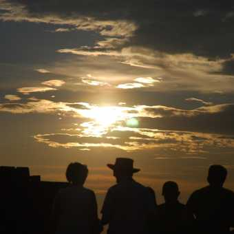 People Sunset Silhouette