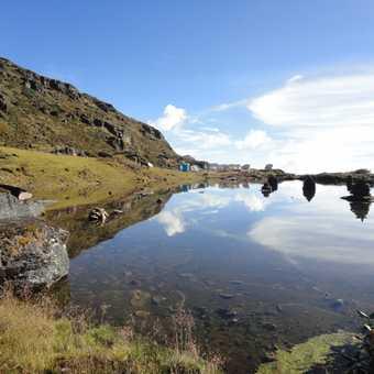 REFLECTIONS IN LAKE SIMTOKA