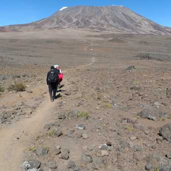 Crossing 'the saddle'