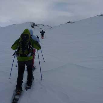 Snowshoeing at Svinslaberge