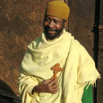 Priest in Addis Adaba