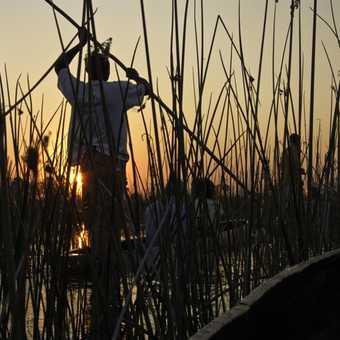 Sunset from mokoro