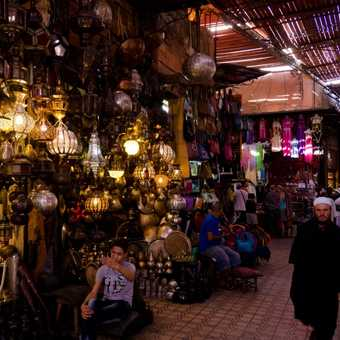 Wandering through the Souks in the Medina