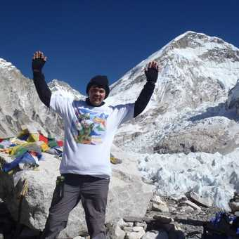 Me at Everest Base Camp