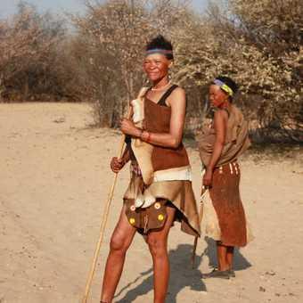 Khoisan women - Kalahari