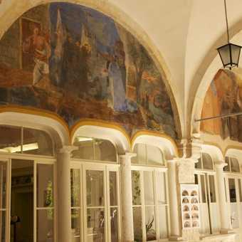 Loggia, rector's palace, Dubrovnik
