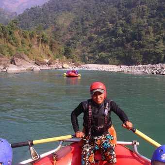 Rafting the Seti River