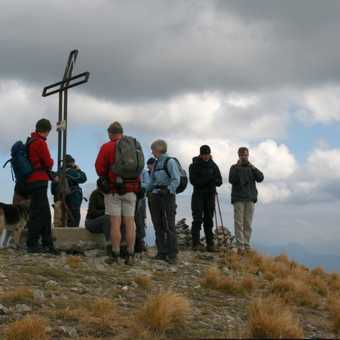 Monte Sumbra Summit