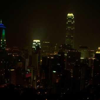 Hong Kong Skyline Night