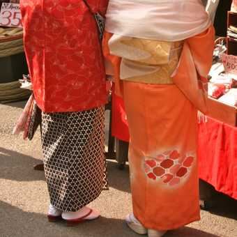 Ladies shopping, Kyoto