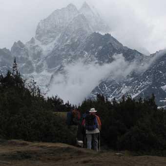 The classic trekking photo!