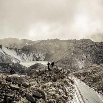 Khumbu glacier.
