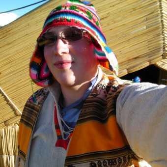 Feeding alpacas and llamas in the Sacred Valley