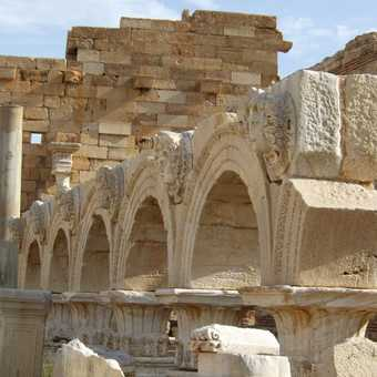 Basilica at Leptis Magna