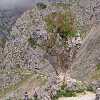 Entering gorge