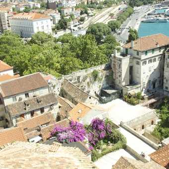 Korcula, from my Exodus hotel bedroom