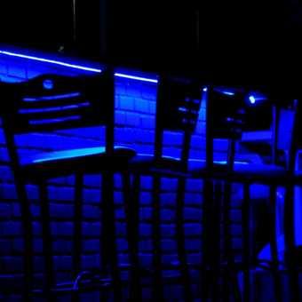 neon bar stools