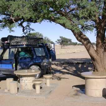 Namib Desert - My LR & campsite